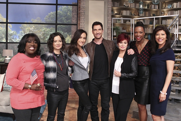 Maggie Q and Dylan McDermott visit THE TALK