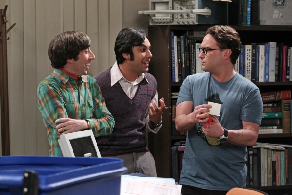 Howard, Raj and Leonard