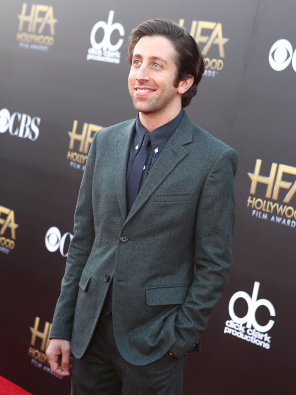 Simon Helberg on the Red Carpet