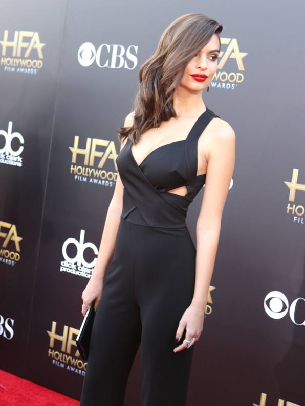 Emily Ratajkowski on the Red Carpet