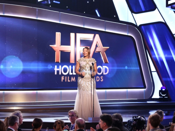 Queen Latifah hosts The Hollywood Film Awards