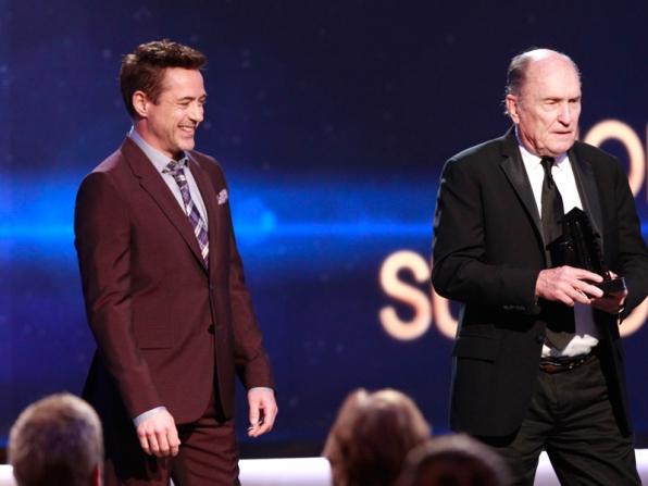 Robert Downey Jr. and Robert Duvall