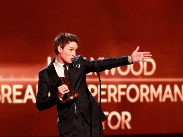 Breakout Actor Winner, Eddie Redmayne