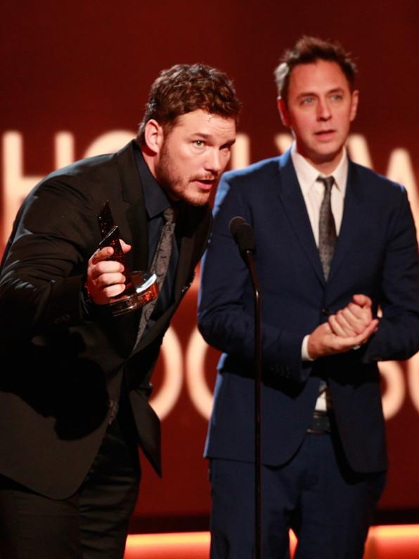 Winners, Chris Pratt & James Gunn
