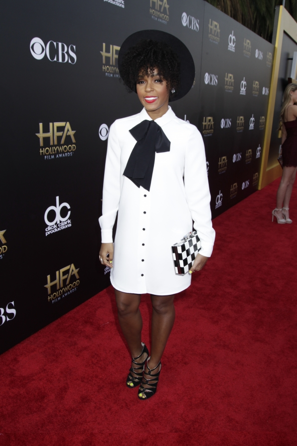 Janelle Monáe on the Red Carpet