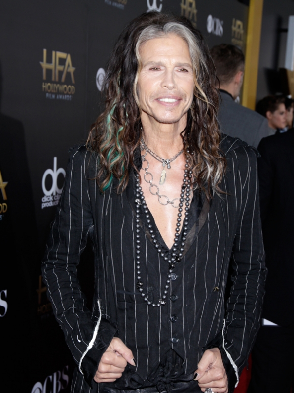 Steven Tyler on the Red Carpet