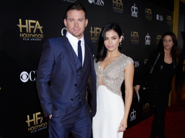 Channing Tatum  and Jenna Dewan-Tatum on the Red Carpet