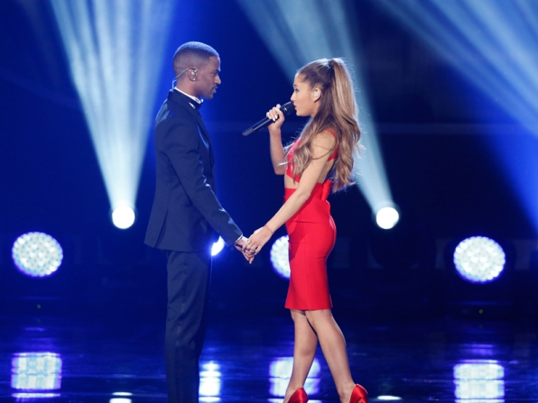 Big Sean joins Ariana Grande on stage