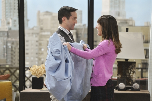 Find out what happens between Felix and Emily on The Odd Couple's season finale