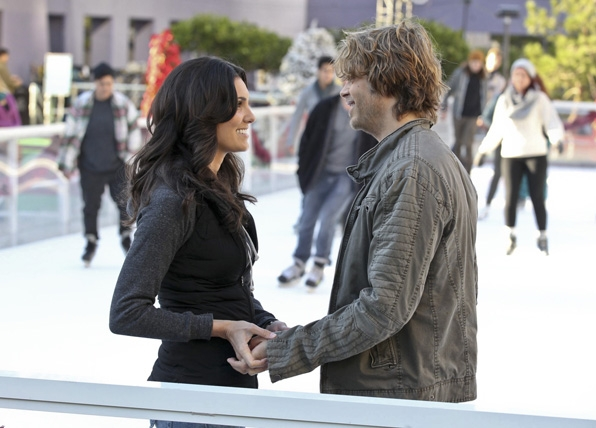 Kensi & Deeks: Kensi is serious, neat and stoic, and Deeks is playful, messy and expressive.
