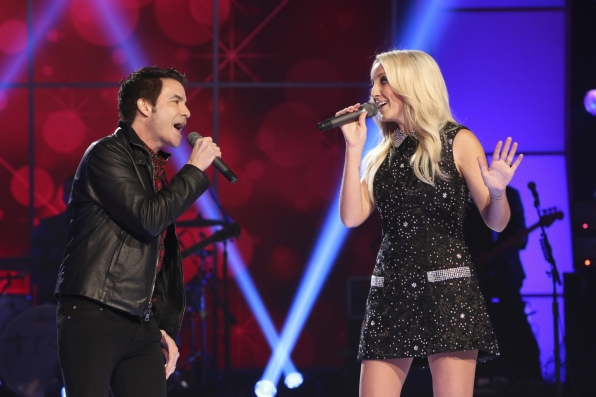 "Train and Ashley Monroe Serenade the Crowd for ""A Home for the Holidays"""