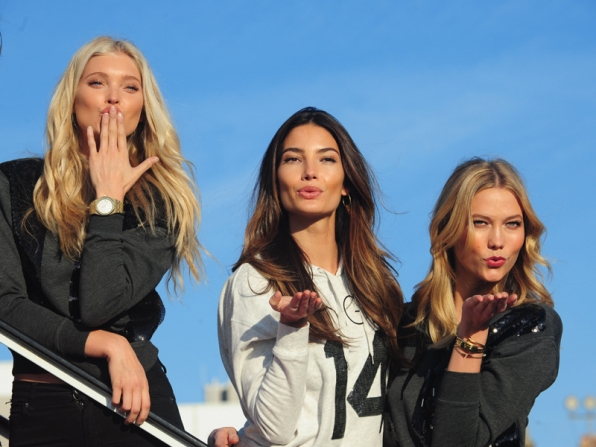 The 2014 Victoria Secret Angels are ready for take off!
