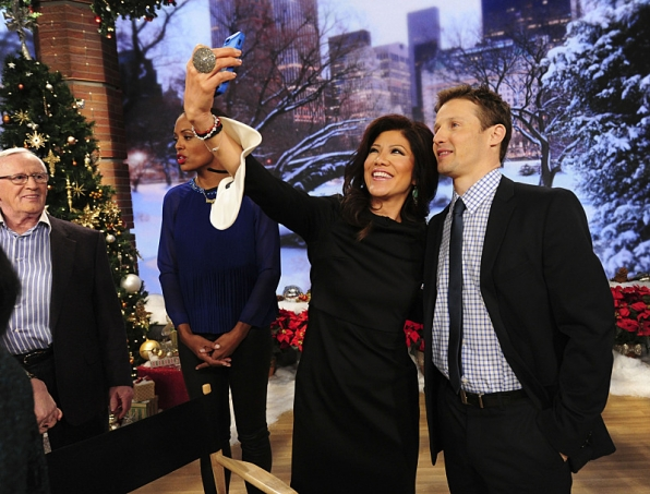 Julie Chen and Will Estes