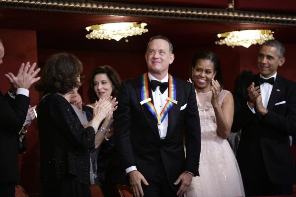 Tom Hanks Honored