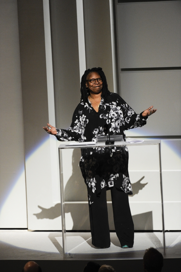 Whoopi Goldberg Takes the Stage at the 2014 Kennedy Center Honors