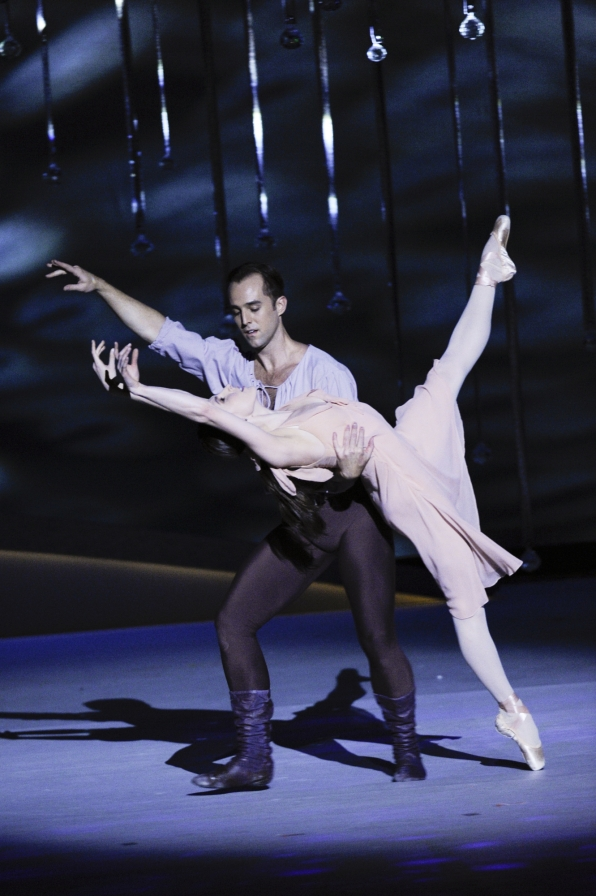 Tiler Peck and Jared Angle