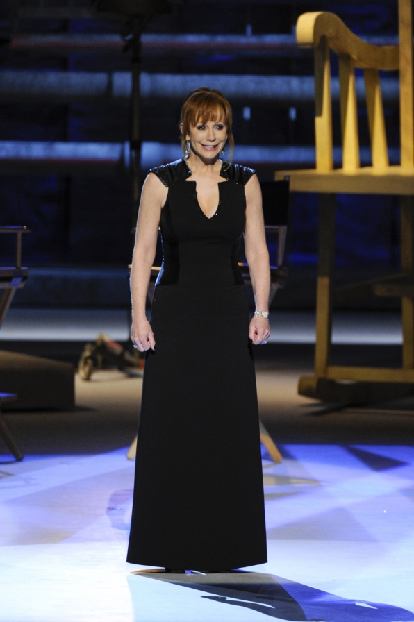 Reba McEntire Takes the Stage