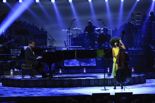 Herbie Hancock and Esperanza Spalding Perform Together