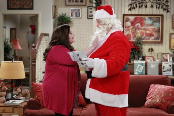 Molly and.....Santa?