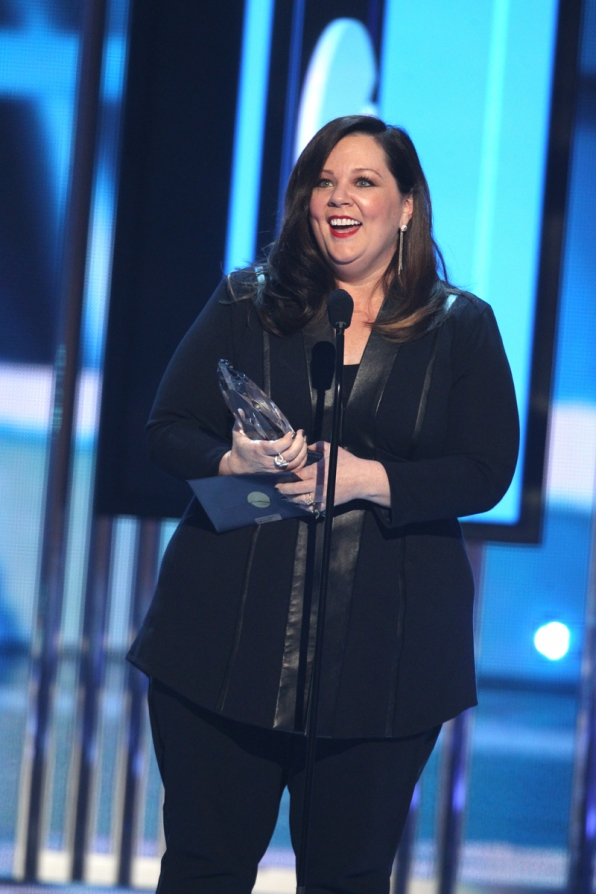 Melissa McCarthy, winner of Favorite Comedic Movie Actress.
