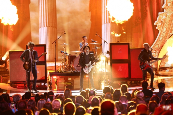 Fall Out Boy delivers a firework performance.