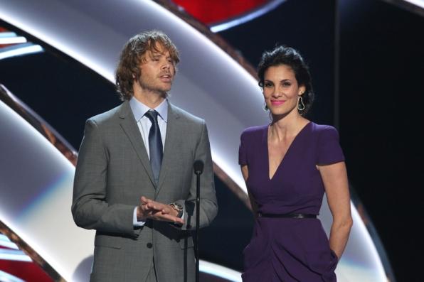 Eric Christian Olsen & Daniela Ruah of NCIS: LA.