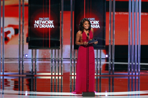 Gabrielle Union presents Favorite Network TV Drama.