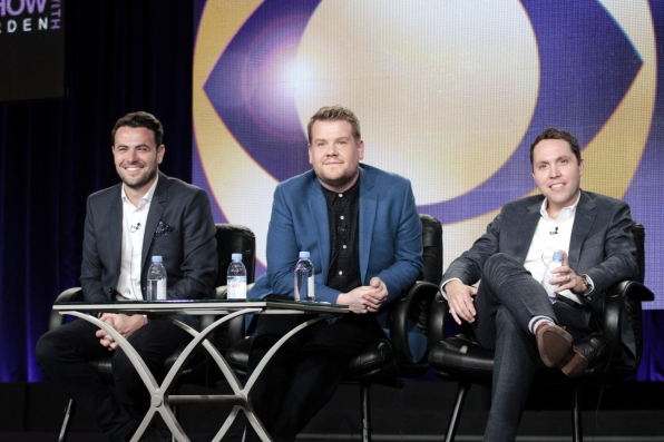 James Corden at the 2015 Winter TCA Session