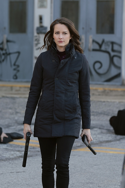 Root has her game face on.