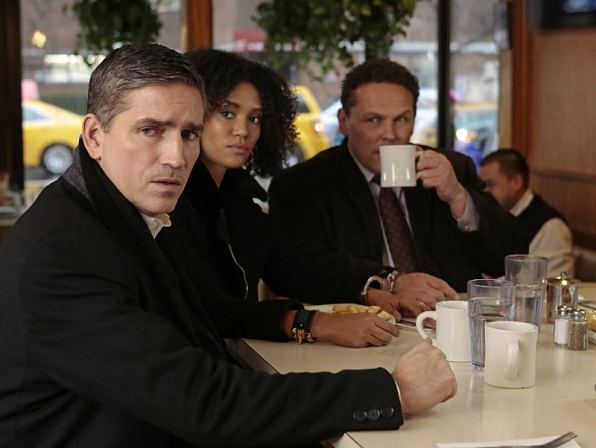 Reese and Fusco try to protect the latest POI.