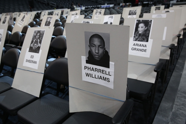 Ariana Grande will have a good view on Sunday.