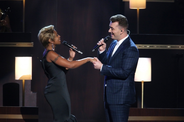 Mary J. Blige and Sam Smith