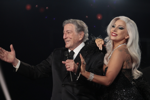 6. Lady Gaga and Tony Bennett