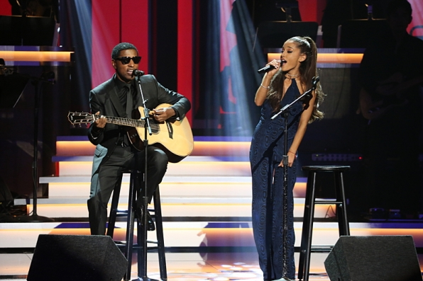 Kenneth 'Babyface' Edmonds and Ariana Grande