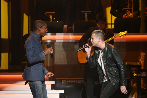 Pharrell Williams  and Ryan Tedder