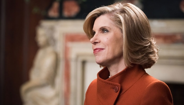 Christine Baranski, nominated for Outstanding Supporting Actress In A Drama Series and