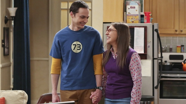 14. She treats her onscreen relationship with Sheldon Cooper tenderly.