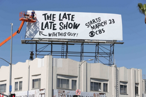 James Cordon promotes his upcoming Late Late Show hosting debut.