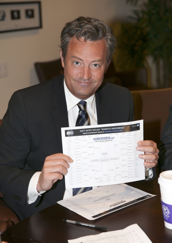Matthew Perry and March Madness join forces
