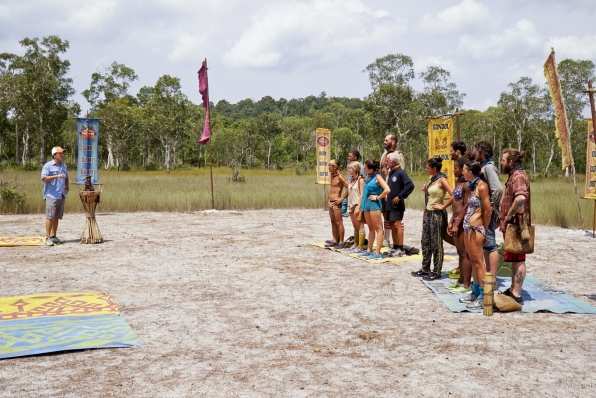 The castaways learn about the next Immunity Challenge.