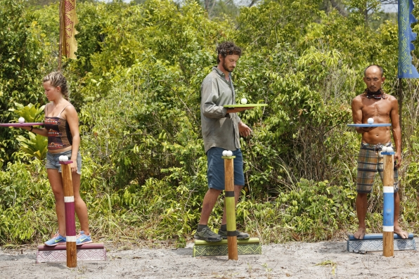 Julia, Neal, and Tai remain laser-focused while competing for Individual Immunity.