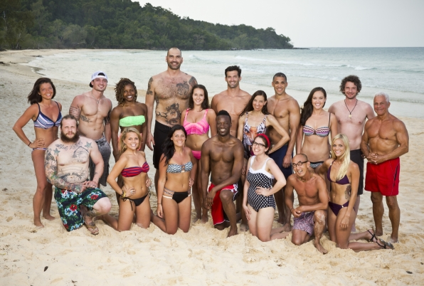 Meet the full cast of Survivor: Kaoh Rong—Brains vs. Brawn vs. Beauty.