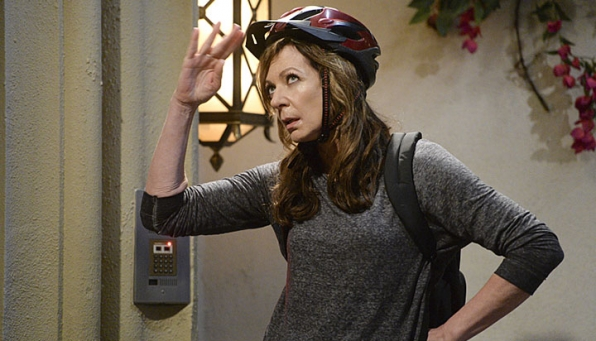 Allison Janney, nominated for Outstanding Supporting Actress In A Comedy Series