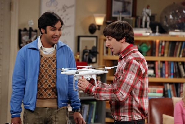 The Wolowitz residence is already stocked with toys.