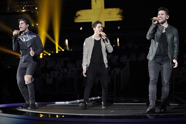 Dan + Shay and Nick Jonas