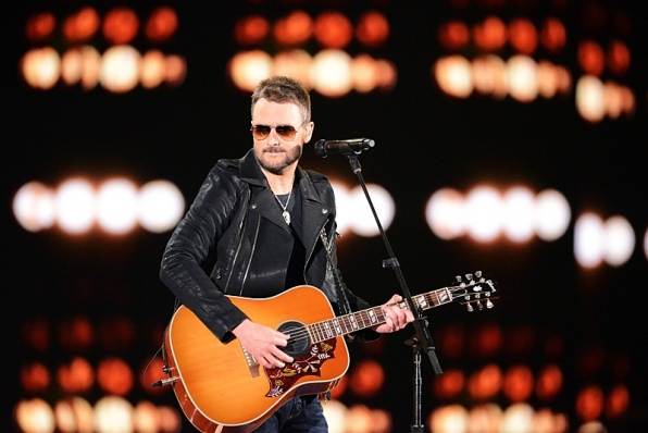 Eric Church opens the show with a banger.