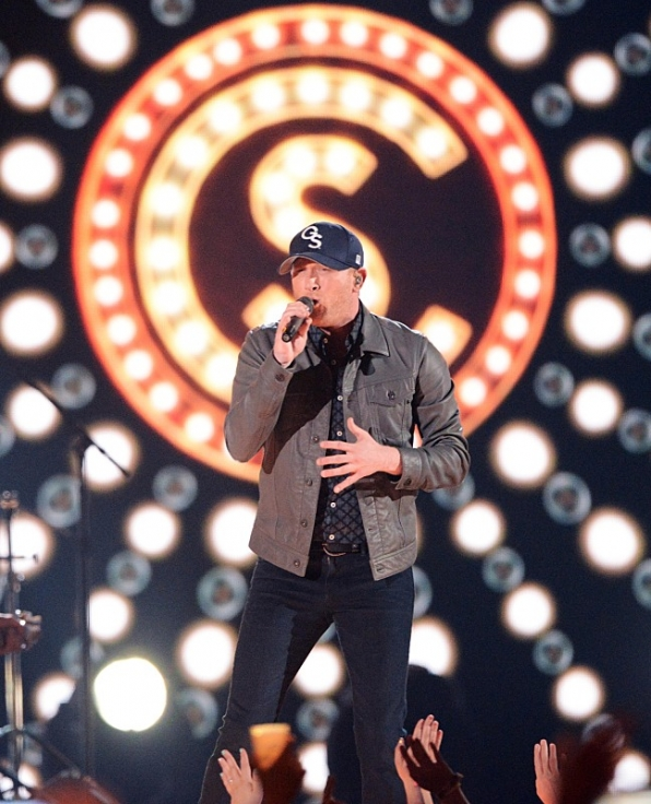 "Cole Swindell performs ""Ain't Worth The Whiskey."""