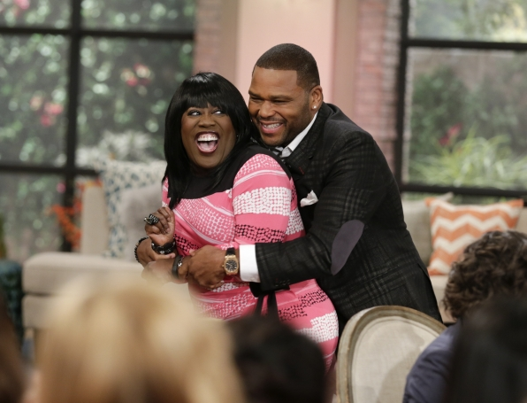 Hugs from Anthony Anderson!