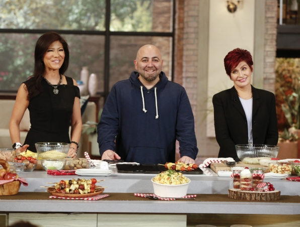 "Chef Duff Goldman returns to ""The Talk"""