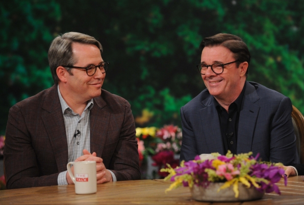 Matthew Broderick and Nathan Lane stop by